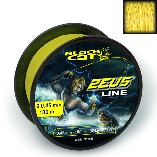 Black Cat Zeus Line 0,60mm 59kg Gelb