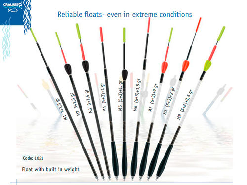 Cralusso Waggler Serie M M1 3+1,5g