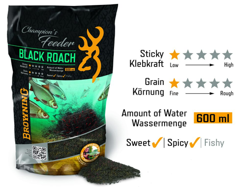 Browning Champion`s Feeder Mix Black Roach