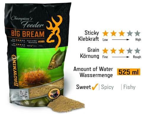 Browning Champion`s Feeder Mix Big Bream
