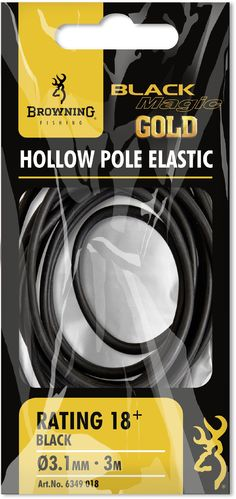 Browning Black Magic Gold Hollow Elastic 3,1mm